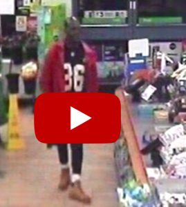 Surveillance Video of 7-Eleven Robbery Suspect