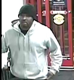 Suspect who robbed a Silver Spring CVS Pharmacy on November 18, 2018