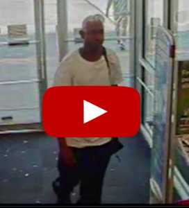 Video of CVS Pharmacy Robbery Suspect