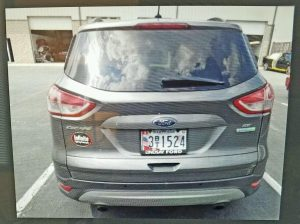 2014 Ford Escape that Joshua Evans is believed to be operating