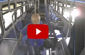 Surveillance Video of Indecent Exposure Suspect On the Ride On Bus