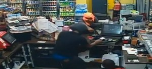 Click here for video of the Shell gas station robbery