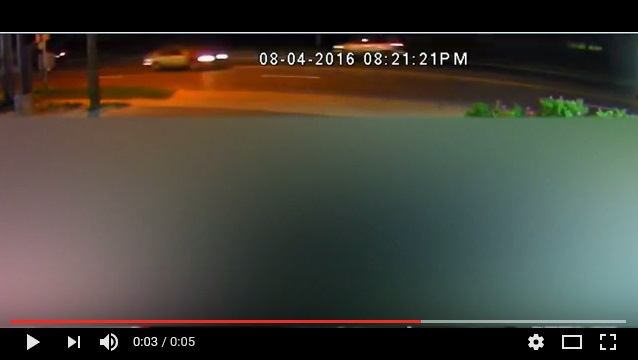 Video of Striking Vehicle