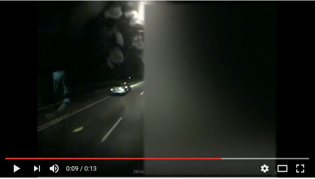 Video of Strinking Vehicle