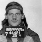 Montgomery County Police mugshot of Lloyd Welch, 1977. Welch was arrested for a residential burglary near Wheaton Plaza.