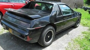 Example of a Pontiac Fiero (same color, make and model vehicle seen at the Sugarloaf market at the time of the murder)