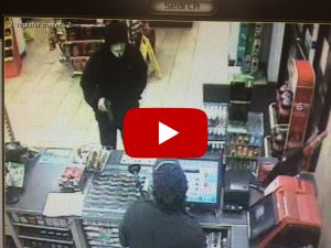 Surveillance Video of Suspect in Armed Robbery at Germantown 7-Eleven