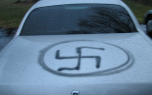 Possible Biased-Based Vandalism to vehicle